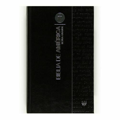 Biblia de America - Letra Grande. SM