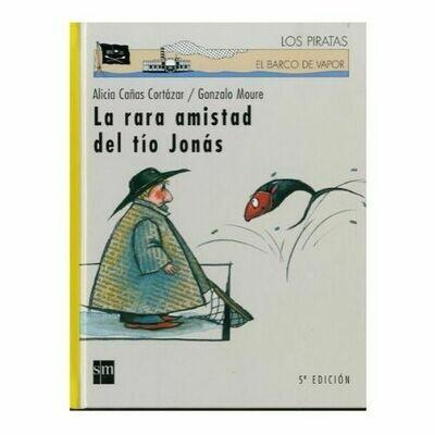 La Rara Amistad del Tio Jonas. Barco de Vapor. SM