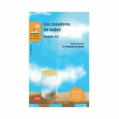 Los Cazadores de Nubes. Barco de Vapor - Serie Naranja. SM