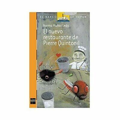 El Nuevo Restaurante de Pierre Quintonill. Barco de Vapor - Serie Naranja. SM