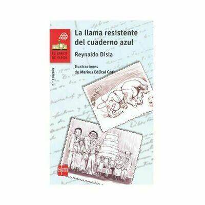La Llama Resistente del Cuaderno Azul. Barco de Vapor - Serie Roja. SM