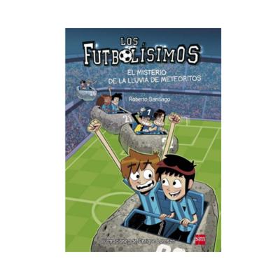 LF 9. El Misterio de la Lluvia de Meteoritos. Los Futbolisimos. SM