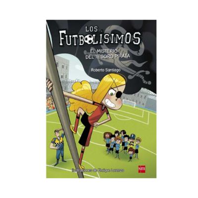 LF 10. El Misterio del Tesoro Pirata. Los Futbolisimos. SM