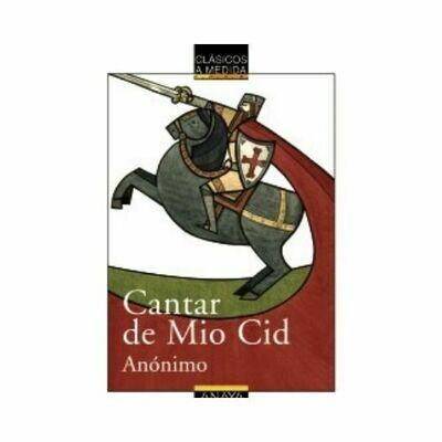 Cantar de Mio Cid (Clasicos) 12 Años. Anaya