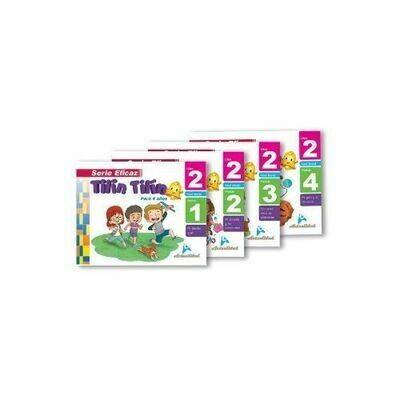 Caja Estudiante Tilin Tilin 2. Serie Eficaz. Nivel Inicial. Actualidad