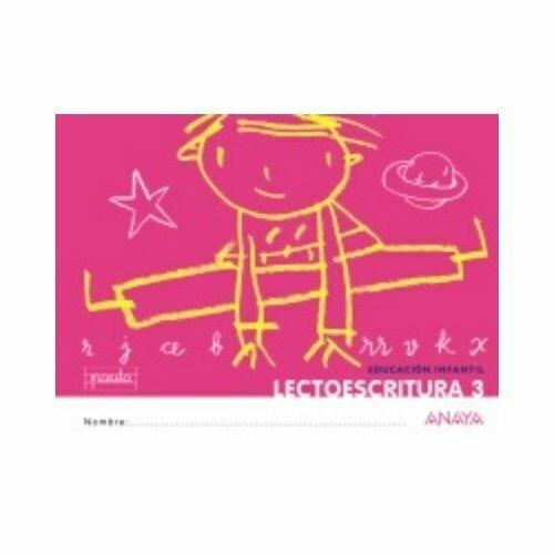 Lectoescritura 3. Educacion Infantil. Anaya