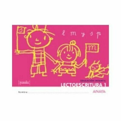 Lectoescritura 1. Educacion Infantil. Anaya