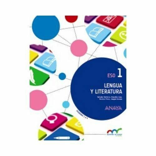 Lengua Castellana y Literatura 1. ESO. (Antiguo 7mo). Anaya