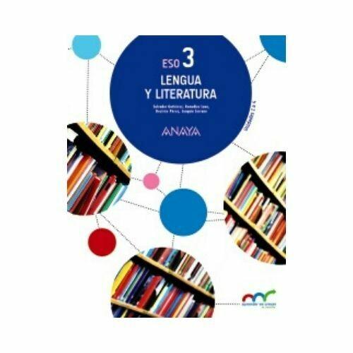 Lengua y Literatura 3. ESO. Secundaria. Anaya  (Primero B)