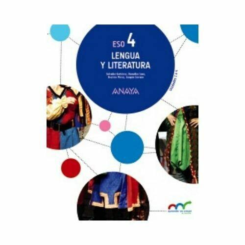 Lengua y Literatura 4. ESO. Secundaria. Anaya