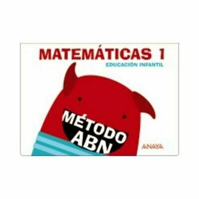Matematicas ABN 1. (Carpeta Cuadernos 1 y 2). Educacion Infantil. Anaya