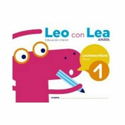 Leo con Lea 1. Pauta. Educacion Infantil. Anaya