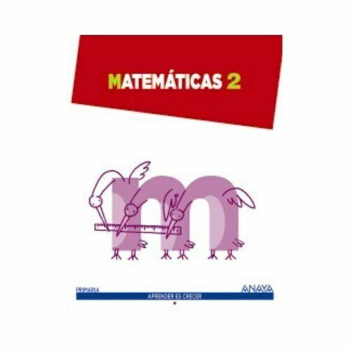 Matematicas 2. Primaria. Aprender es Crecer. Anaya