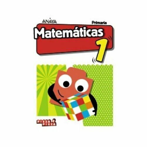 Matematicas 1. Primaria. Pieza a Pieza. Anaya