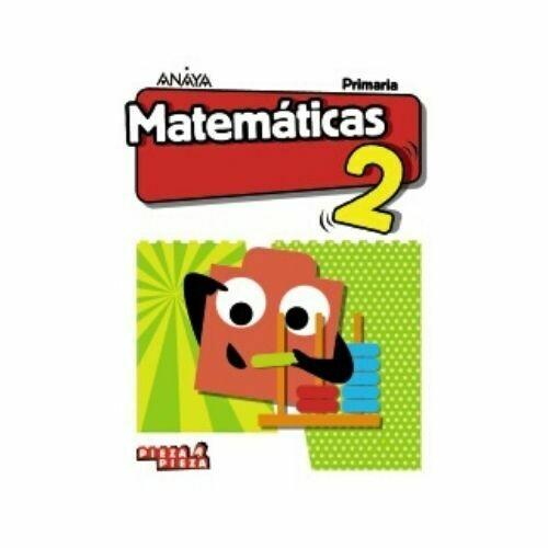 Matematicas 2. Primaria. Pieza a Pieza. Anaya