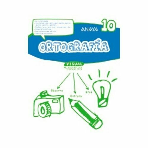 Ortografia 10. Visualmente. Anaya