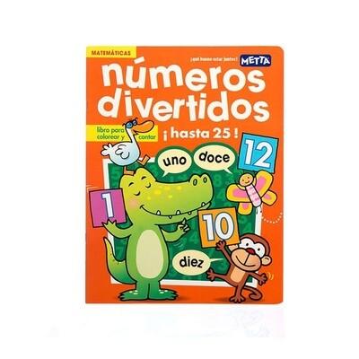 Tuyo y Mío: Numeros Divertidos, libro de cuentos y colorear