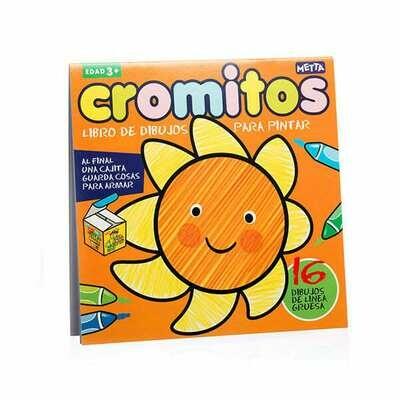 Cromitos: Sol, libro de colorear