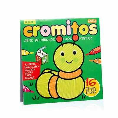 Cromitos: Gusano, libro de colorear