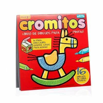 Cromitos: Caballito, libro de colorear