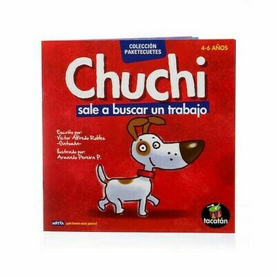 Chuchi sale a buscar trabajo, libro de cuentos