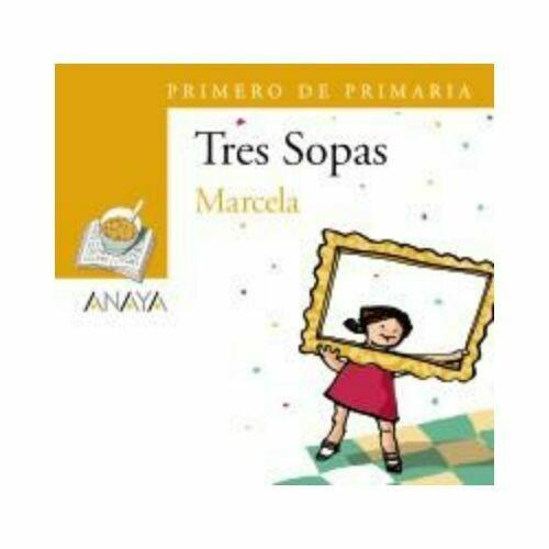 """Blister """"Marcela"""" Tres Sopas. Primaria (Libro+Cuaderno Act.). Anaya"""