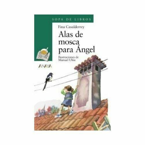 Alas de Mosca para Angel - Libro Suelto (10 Años). Sopa de Libros. Anaya