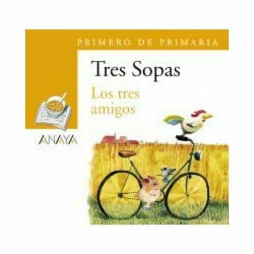 """Blister """"Los Tres Amigos"""". Tres Sopas. Primaria (Libro+Cuaderno Act.). Anaya"""