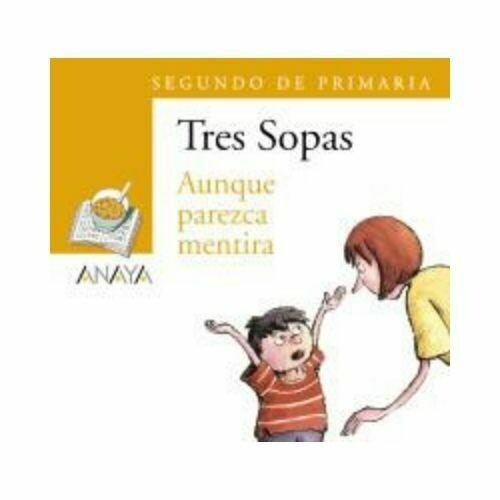 """Blister """"Aunque Parezca Mentira"""" Tres Sopas. Primaria (Libro+Cuaderno Act.). Anaya"""