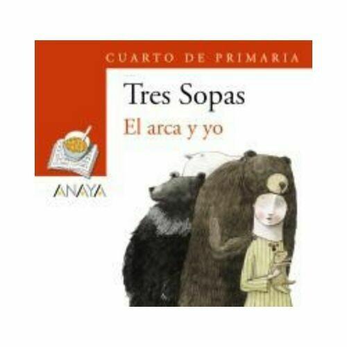 """Blister """"El Arca y Yo"""" Tres Sopas. Primaria (Libro+Cuaderno Act.). Anaya"""