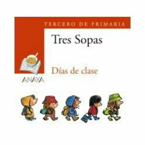 "Blister ""Dias de Clase"" Tres Sopas. Primaria (Libro+Cuaderno Act.). Anaya"
