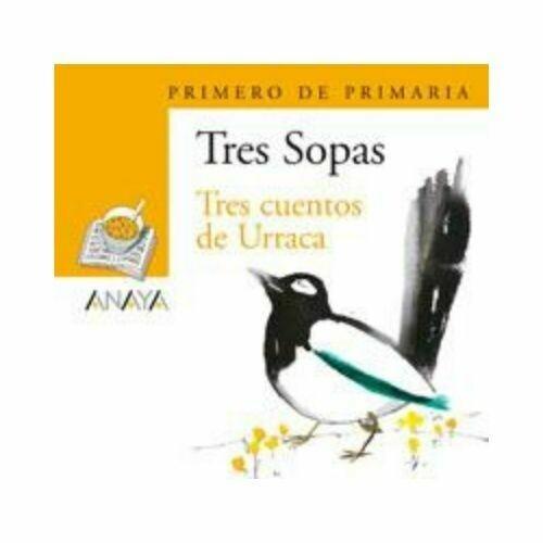"""Blister """"Tres Cuentos de Urraca"""" Tres Sopas. Primaria (Libro+Cuaderno Act.). Anaya"""