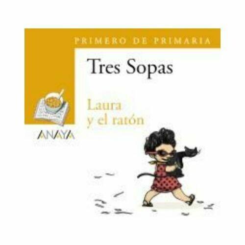 """Blister """"Laura y el Raton"""" Tres Sopas. Primaria (Libro+Cuaderno Act.). Anaya"""