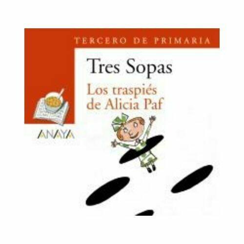 """Blister """"Los Traspies de Alicia Paf"""" Tres Sopas. Primaria (Libro+Cuaderno Act.). Anaya"""
