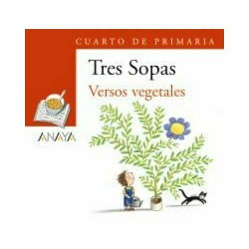 """Blister """"Versos Vegetales"""" Tres Sopas. Primaria (Libro+Cuaderno Act.). Anaya"""