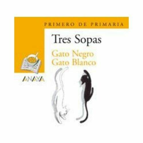 "Blister ""Gato Negro Gato Blanco"" Tres Sopas. Primaria (Libro+Cuaderno Act.). Anaya"