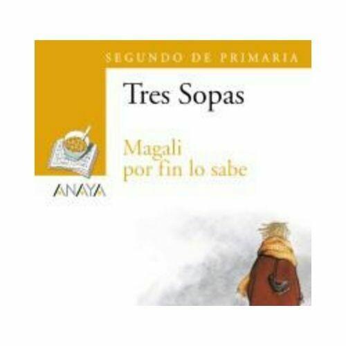 "Blister ""Magali por Fin lo Sabe"" Tres Sopas. Primaria (Libro+Cuaderno Act.). Anaya"