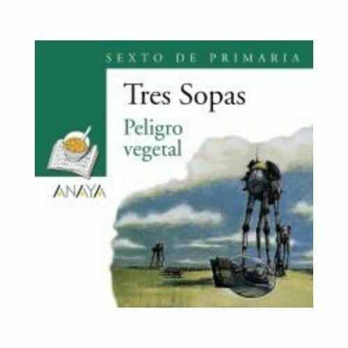 """Blister """"Peligro Vegetal"""" Tres Sopas. Primaria (Libro+Cuaderno Act.). Anaya"""