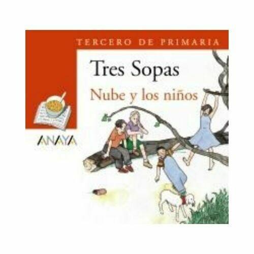 """Blister """"Nube y los Niños"""" Tres Sopas. Primaria (Libro+Cuaderno Act.). Anaya"""