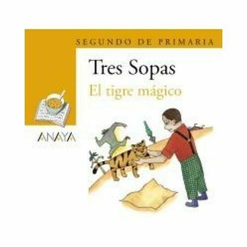 """Blister """"El Tigre Magico"""" Tres Sopas. Primaria (Libro + Cuaderno Act.). Anaya"""