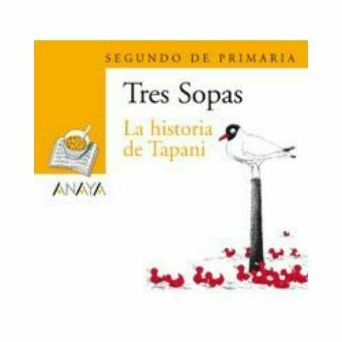 """Blister """"La Historia de Tapani"""" Tres Sopas. Primaria (Libro+Cuaderno Act.). Anaya"""