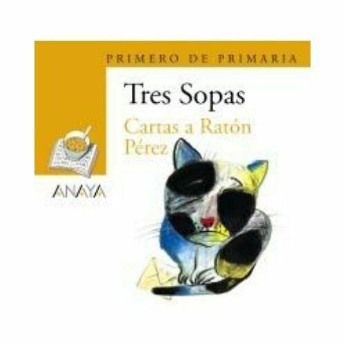 """Blister """"Cartas a Raton Perez"""" Tres Sopas. Primaria (Libro+Cuaderno Act.). Anaya"""