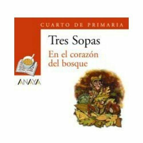 """Blister """"En el Corazon del Bosque"""" Tres Sopas. Primaria (Libro+Cuaderno Act.). Anaya"""