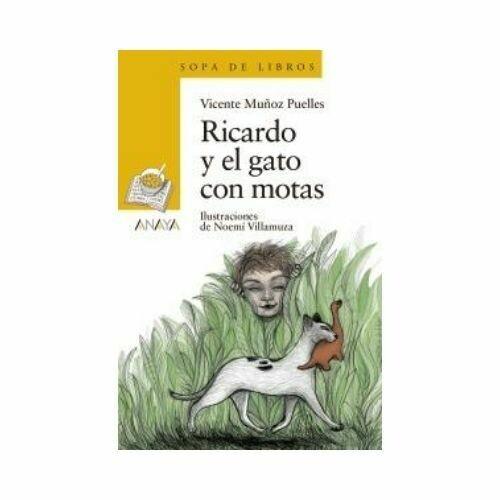 Ricardo y el Gato con Motas - Libro Suelto (6 Años). Sopa de Libros. Anaya