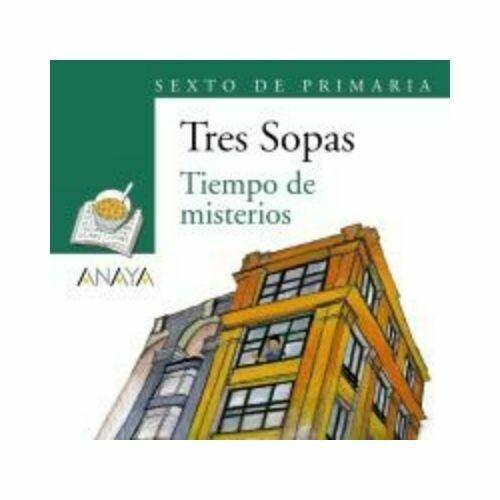 """Blister """"Tiempo de Misterios"""" Tres Sopas. Primaria (Libro + Cuaderno Act.). Anaya"""