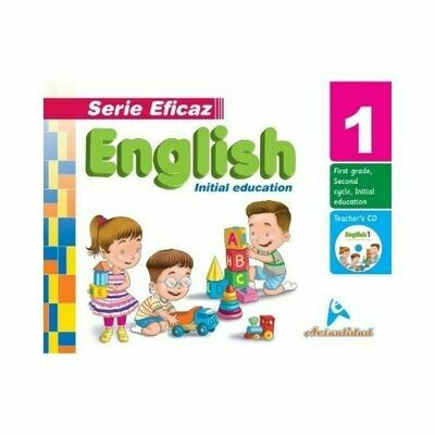 English (Ingles) 1. Serie Eficaz. Nivel Inicial. Actualidad