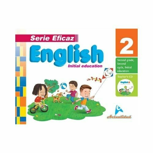 English (Ingles) 2. Serie Eficaz. Nivel Inicial. Actualidad