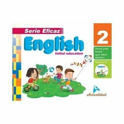 English (Ingles) 2. Serie Eficaz. Nivel Inicial. Actualidad