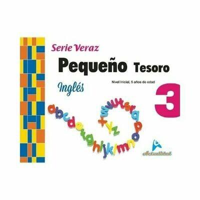 Ingles Pequeño Tesoro 3. Serie Veraz. Nivel Inicial. Actualidad