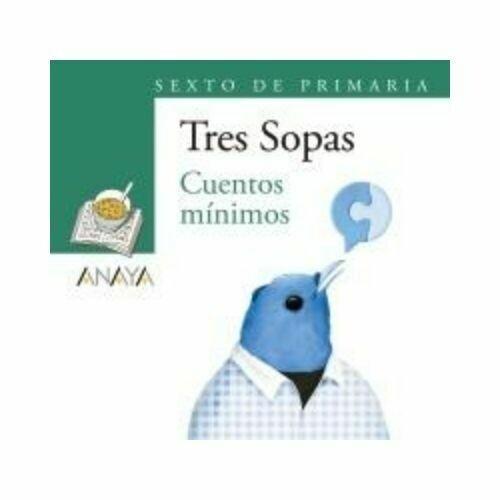 """Blister """"Cuentos Minimos"""" Tres Sopas. Primaria (Libro+Cuaderno Act.). Anaya"""